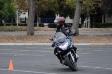 Michael KB - learning limits on new bike